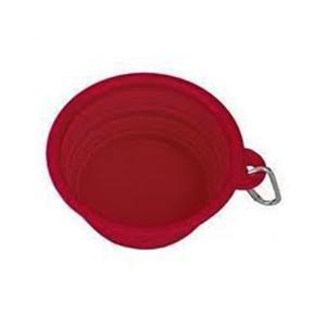 Travel Bowl Silicona Vermell 400 ml