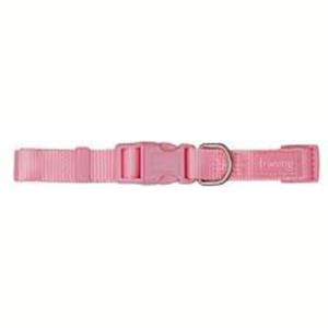 Collar Nylon Basic Rosa 10 mm