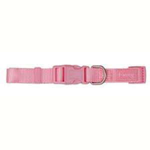 Collar Nylon Basic Rosa 15 mm
