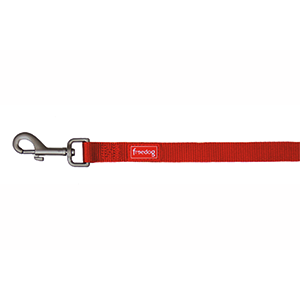 Correa Nylon Basic Roja 15 mm