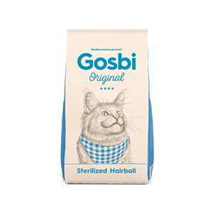 Gosbi Cat Sterilized Hairball 1 kg