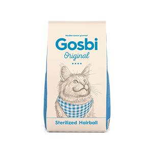 Gosbi Cat Sterilized Hairball 3 kg