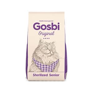 Gosbi Cat Sterilized Senior 1 kg