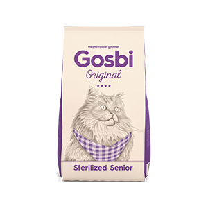 Gosbi Cat Sterilized Senior 7 kg