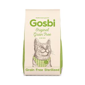 Gosbi Cat Grain Free Sterilized 3 kg