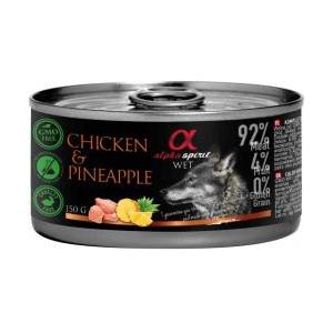 Alpha Spirit llauna pollastre amb pinya 150 gr