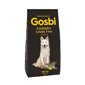 Gosbi Dog Grain Free Adult Fish Medium 12 kg