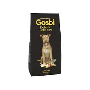 Gosbi Dog Grain Free Adult Duck Medium 12 kg
