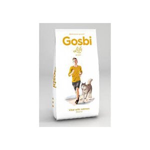 Gosbi Dog Life Vital Maxi con salmon 15 kg