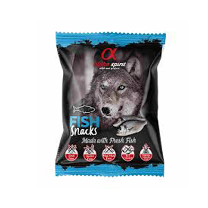 Alpha Spirit Snacks Pescado 50 gr