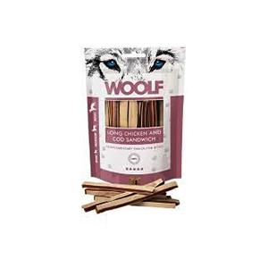 Woolf long chicken & cod sandwich 100 gr
