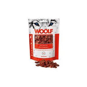 Woolf salmon chunkies 100 gr