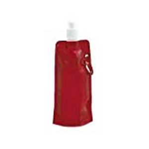 Botella agua roja