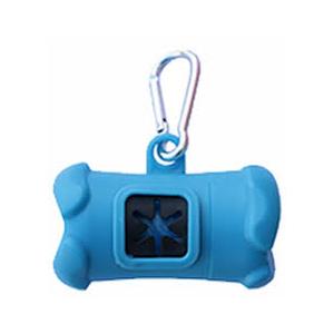 Dispensador bolsas azul