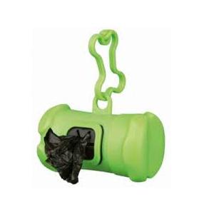 Dispensador bolsas verde