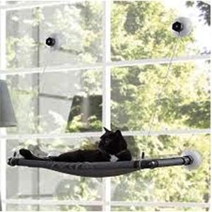 Cama ventana gatos